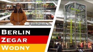 Niemieckie ciekawostki - zegar wodny w Europa Center w Berlinie   Językowy Precel