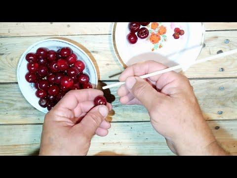 Вопрос: Как удалить косточки с малины быстро и в больших объемах?