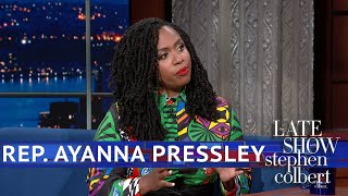 "Rep. Ayanna Pressley Will Only Refer To Trump As ""The Occupant"""