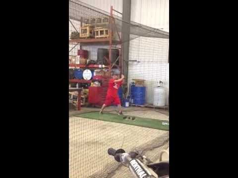 Wyatt Miller Jefferson West High School Hitting Video 2