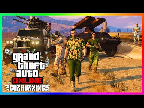 GTA ONLINE GUNRUNNING DLC $100,000,000 SPENDING SPREE - BUYING ALL NEW VEHICLES, BUNKERS & MORE!!!
