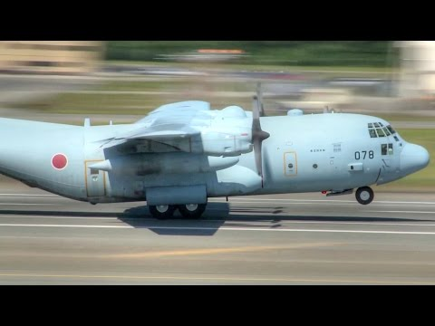 Japan Air Self-Defense Force And USAF Aircraft Takeoff From Alaska