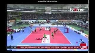 Grand Final Bola Volly Putra set 3 2015 part III