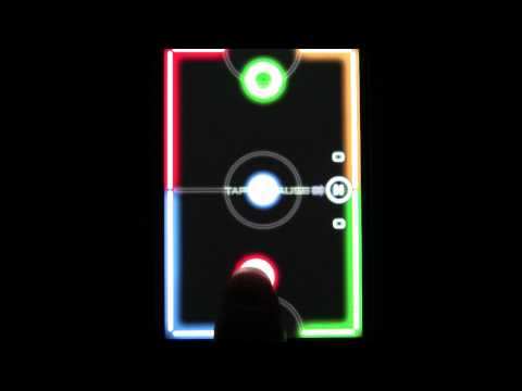 Glow Hockey 2 - Game for iPhone iPad & iPod Touch