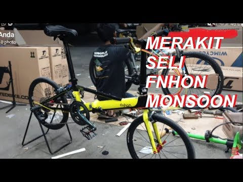 Toko Sepeda Majuroyal Review FNHON MONSOON - YouTube