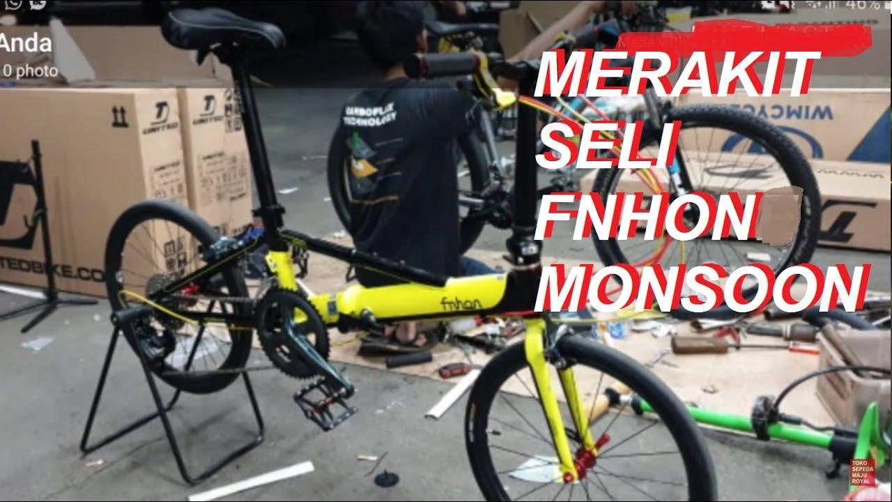 Sepeda Lipat FNHON MONSOON rakitan Toko Sepeda Majuroyal