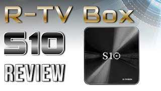 R-TV Box S10 Amlogic S912 4K TV Box Review