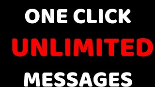 One Click or Unlimited Messages - Latest Trick 2018 - Tech Knowledge Hindi
