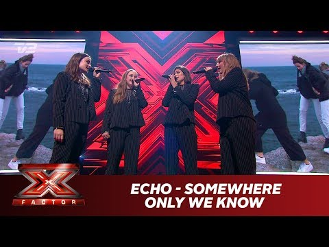 ECHO synger 'Somewhere Only We Know' - Keane (Live) | X Factor 2019 | TV 2