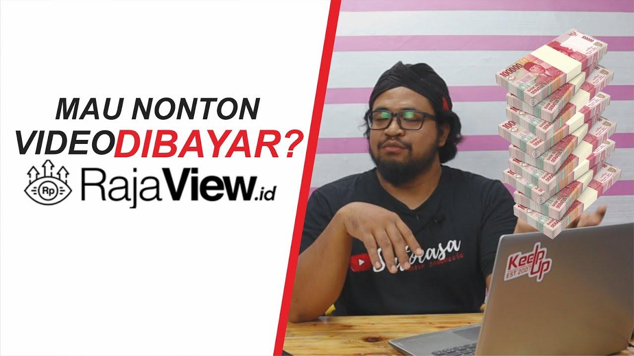Cara Mendapatkan Uang Hanya dengan Nonton Video di Rajaview.id