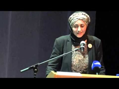 Honourable Deputy Minister of Home Affairs,Ms Fatima Chohan SFONSA Xenophobia public lecture