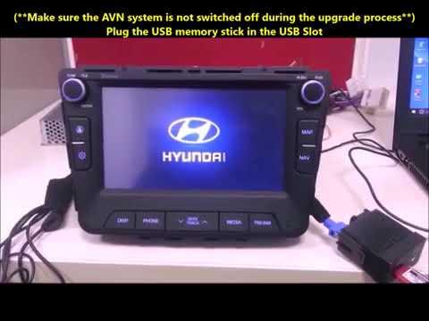 Hyundai India AVN Update for Creta Verna i20 Nand Type Supports  AppleCarPlay AndroidAuto MirrorLink