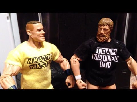 Grims Toy Show WWE ACTION FIGURE T-Shirts! Team Nailed It And What A Waste