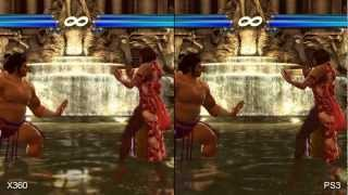 Tekken Tag Tournament 2 Xbox 360 vs. PS3 Comparison HD
