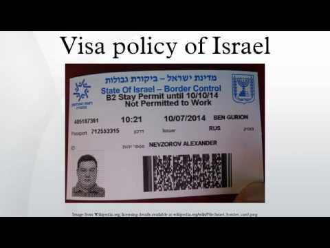 Visa Policy Of Israel