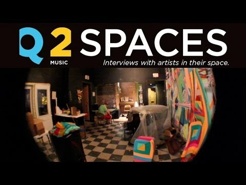 Electronic musician Dan Deacon's studio in Baltimore, Maryland: Q2 Spaces