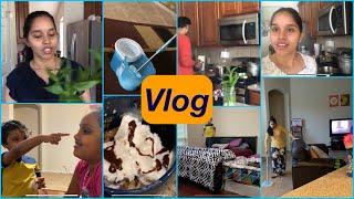 #Vlog/My life before marriage 😊/My new Mopping machine/MUG CAKE/ Mopping my big HOUSE 🏡/Funny abbu