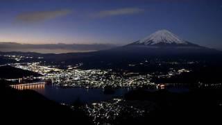 夜景と富士山 Town Lights and Mt.Fuji (Time-Lapse EOS 5D Mark II)