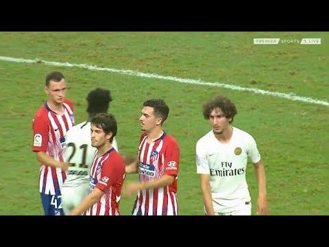 Yacine Adli vs Atlético Madrid (Friendly) 2018-19