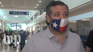 Ted Cruz's Cancun trip spurs criticism from Texas officials