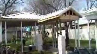 Building The Pergola Roof