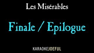 Les Miserables Finale (Epilogue) Karaoke / instrumental