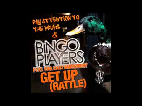 Get Up (Rattle Vocal Extended Mix) Vs Pay Attention To The Drums (RoNNy Mashup)