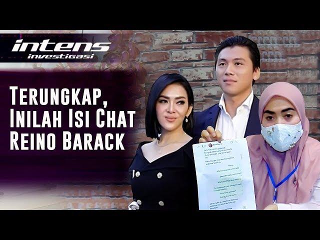 Gerah , Aisyahrani bongkar isi percakapan Reino Barack yang menjadi bukti kuat | Intens Investigasi