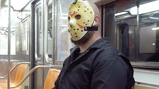 JASON VOORHEES Back in New York with a Beard PSA (2020)