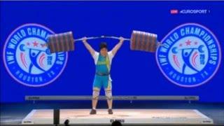 Жазира Жаппаркуль Жесткая борьба казашки с китаянкой Чемпионат 2015
