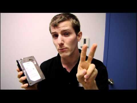 Seagate Barracuda 2TB ST2000DM001 Hard Drive Unboxing Linus Tech Tips