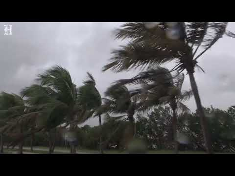Strong winds and waves in Key West as Hurricane Irma nears