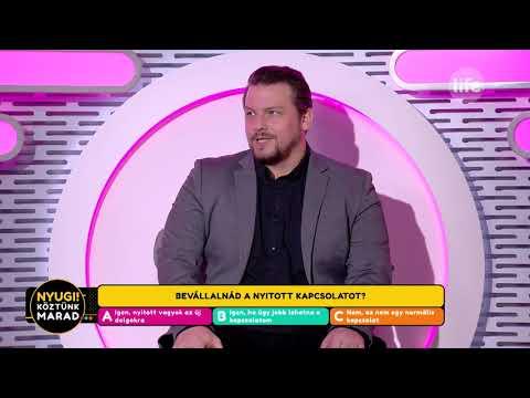 Peller Károly Akár A Nyitott Kapcsolatot Is Bevállalná - Life TV
