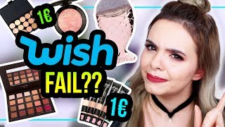 WISH MAKEUP ab 1€ im LIVE TEST! - kompletter Fail?! #GLOWvember