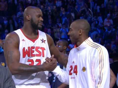 Kobe and Shaq Reunite at All Star