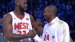 Kobe and Shaq Reunite at All Star