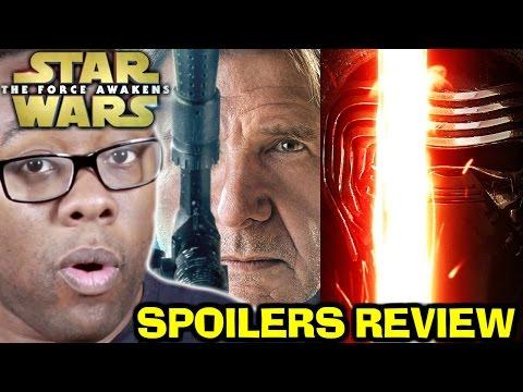 STAR WARS The Force Awakens SPOILERS REVIEW : Black Nerd