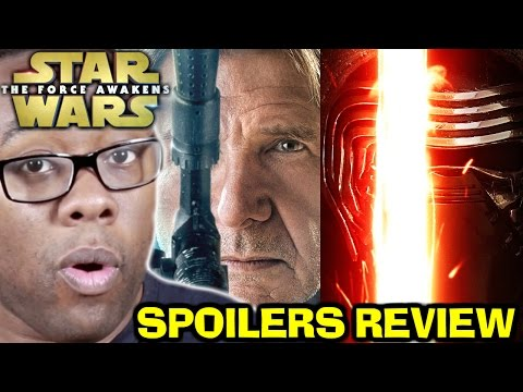 STAR WARS The Force Awakens SPOILERS REVIEW : Black Nerd