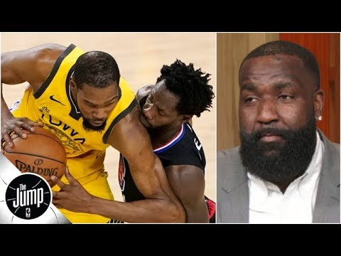 Kendrick Perkins and Tracy McGrady explain how Kevin Durant can overcome Patrick Beverley | The Jump