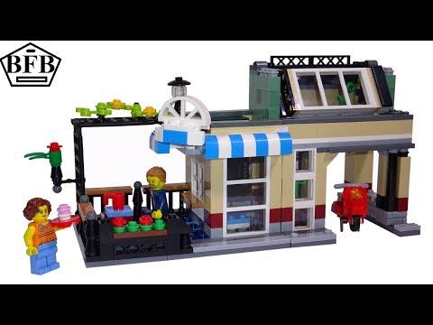lego-creator-31065- -stadthaus-an-parkstraße-(stadt-kaffee)- -lego-speed-build- -modell-2