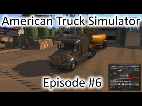 American Truck Simulator - Ep. 6 - San Rafael to Huron & L.A. to El Centro