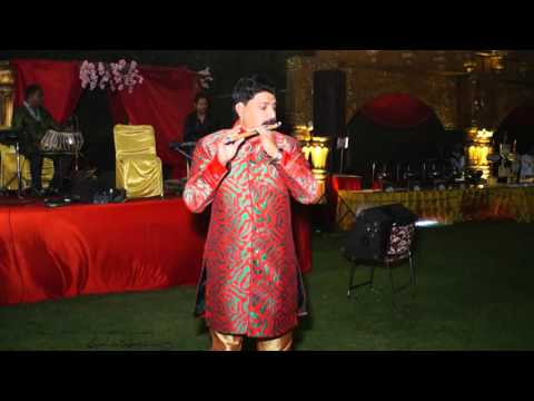 Sanam re new romantic song on flute by Sunil Sharma Indore +919827069747 in wedding show
