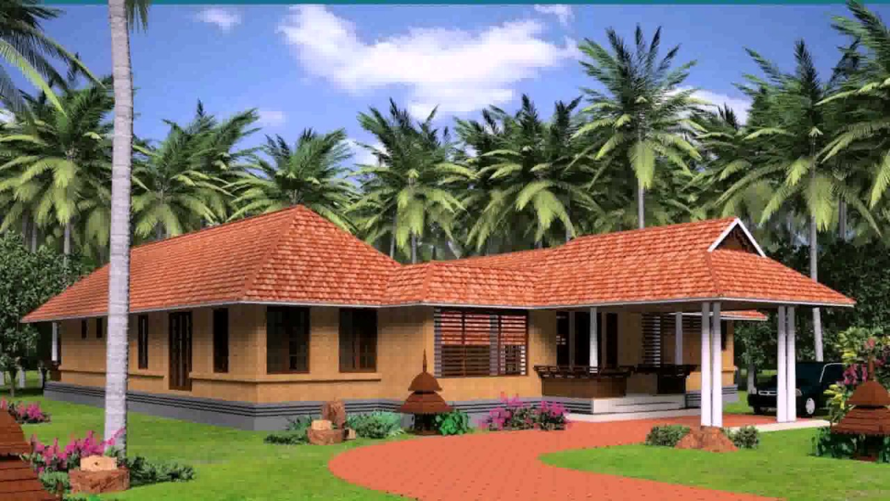 House plans kerala model nalukettu youtube for House plans with photos in kerala style