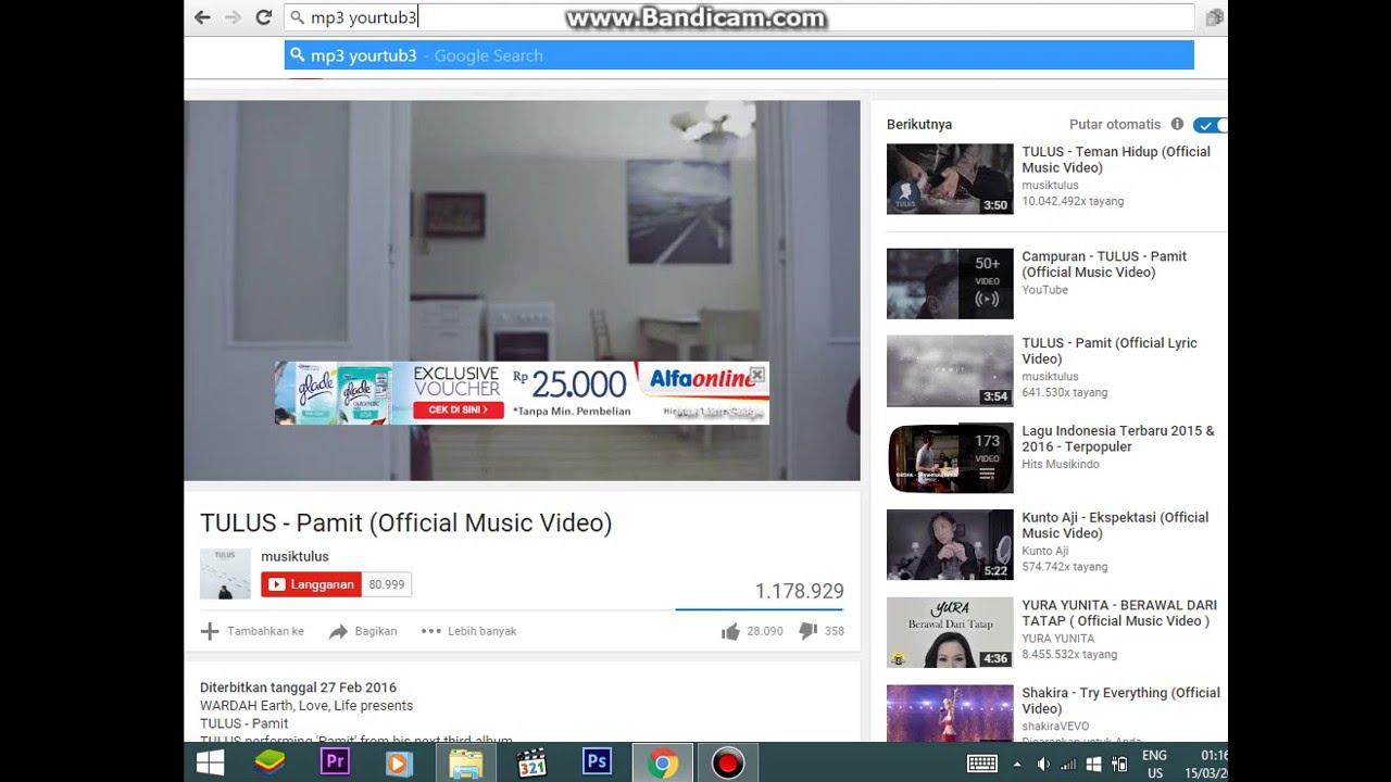 cara download dari youtube ke mp3