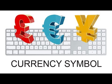 Keyboard shortcut for currency symbol   How to Make Currency shortcuts   Currency Shortcuts
