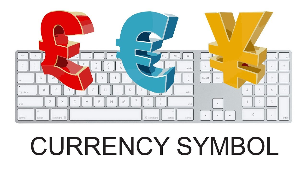 Keyboard Shortcut For Currency Symbol How To Make Currency