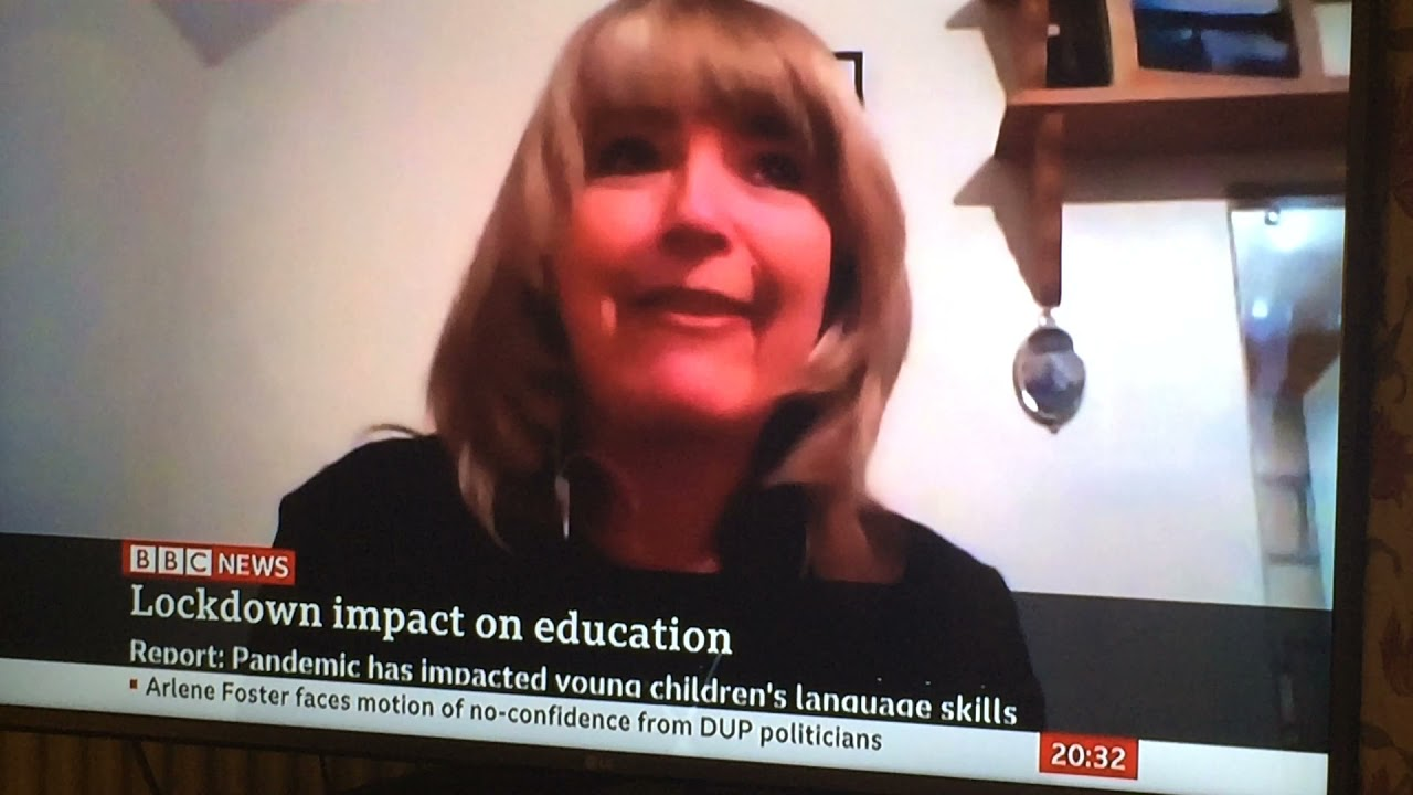 Children's speech and language hits the national news