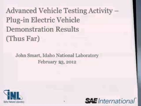AVTA - Plug-in Electric Vehicle Demonstration Results