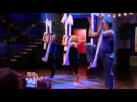 AntiGravity® Aerial Yoga on Live with Kelly and Michael
