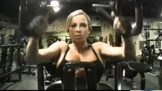 Ava Cowan - Muscular Development - Back Workout
